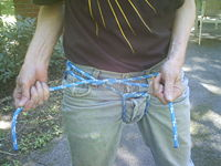 Step Four - Making The Square Knot