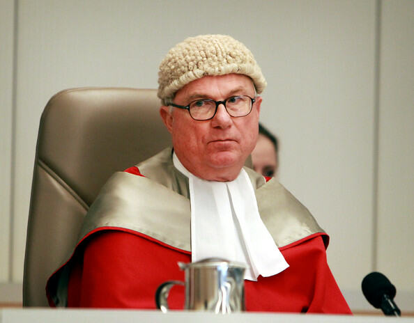 justice peter garling