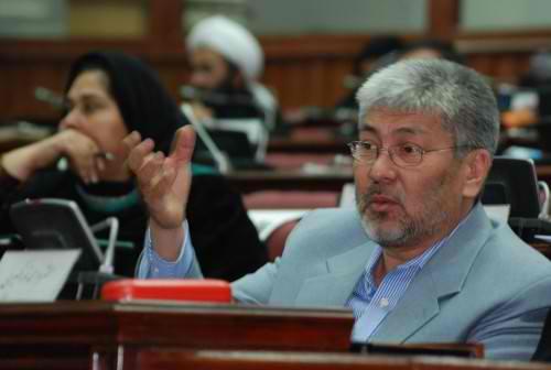 Kabul MP Mohammed Ibhrahim Qasemi