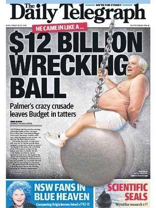 clive palmer wrecking ball