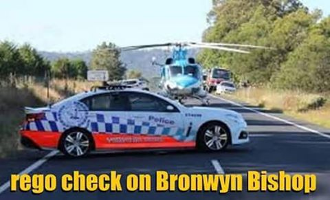 Bronwyn bishop rego cocher