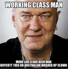 Jimmy Barnes – Working Class Terrorist Supporter