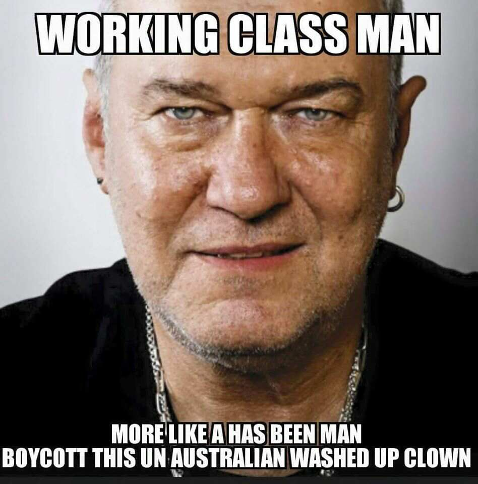 Jimmy Barnes – Working Class Terrorist Supporter
