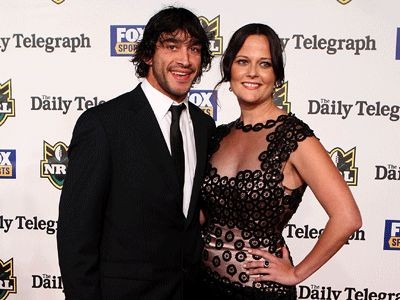 Johnathan Thurston und Samantha Lynch