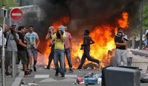 穆斯林抗議