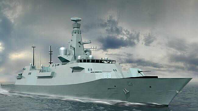 de nouveaux navires de la marine australian
