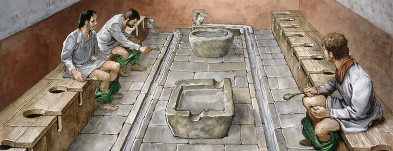 communal toilet