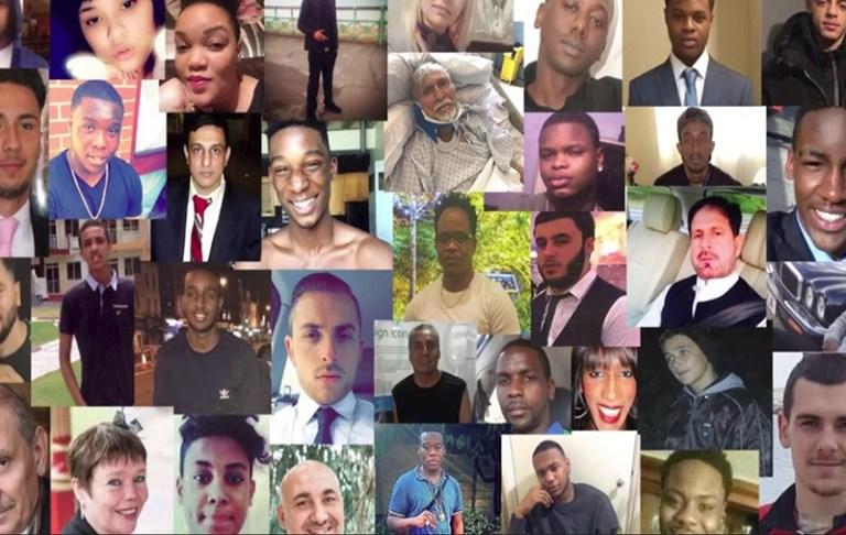 london murder victims